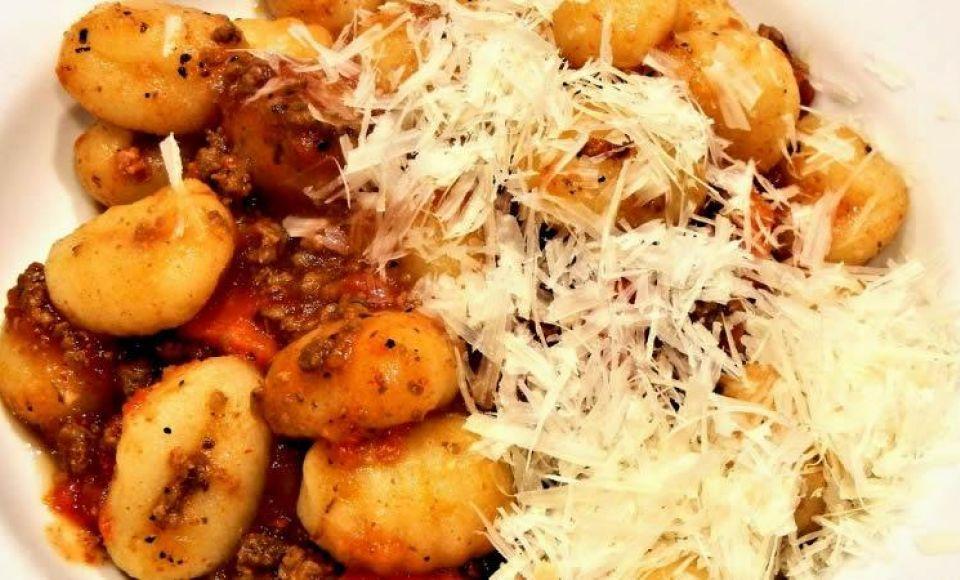 Gnocchi di Patate alla Ciociara - Aardappel Gnocchi uit Ciociara