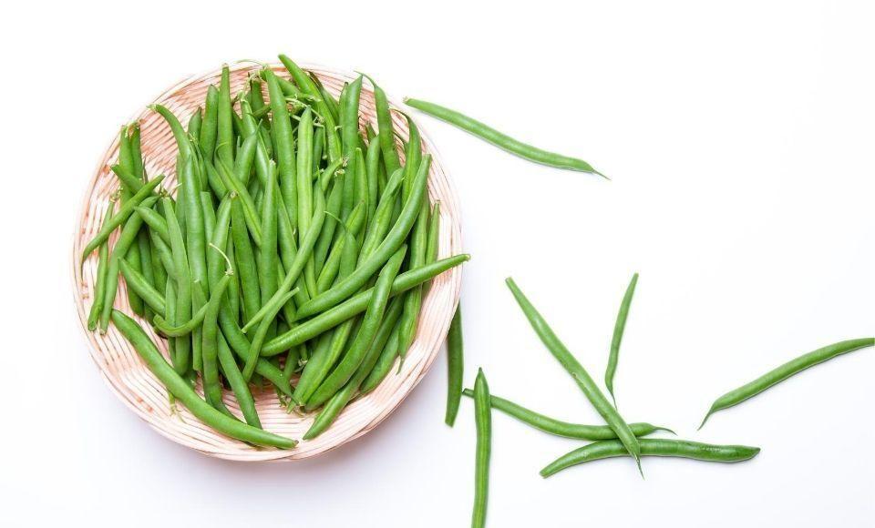 Groene bonen in knoflooksaus