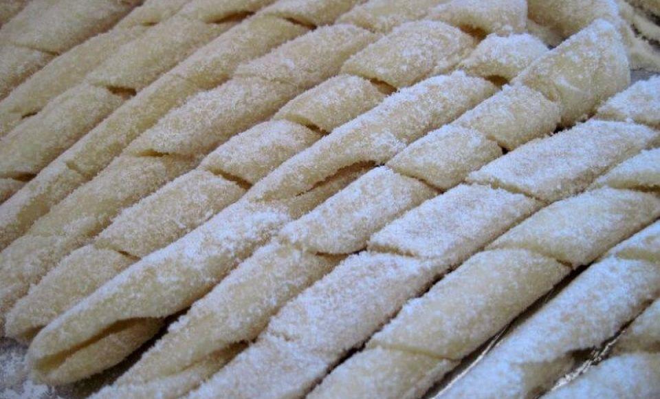 Huisgemaakte pasta: Busiati