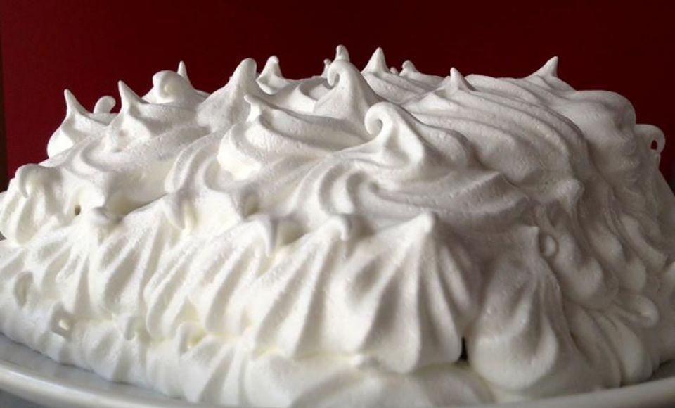 Italiaanse meringue - Meringa italiana