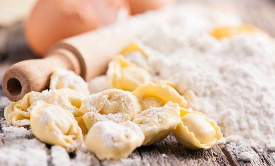 Tortellini 'Nodo d'amore' met salieboter