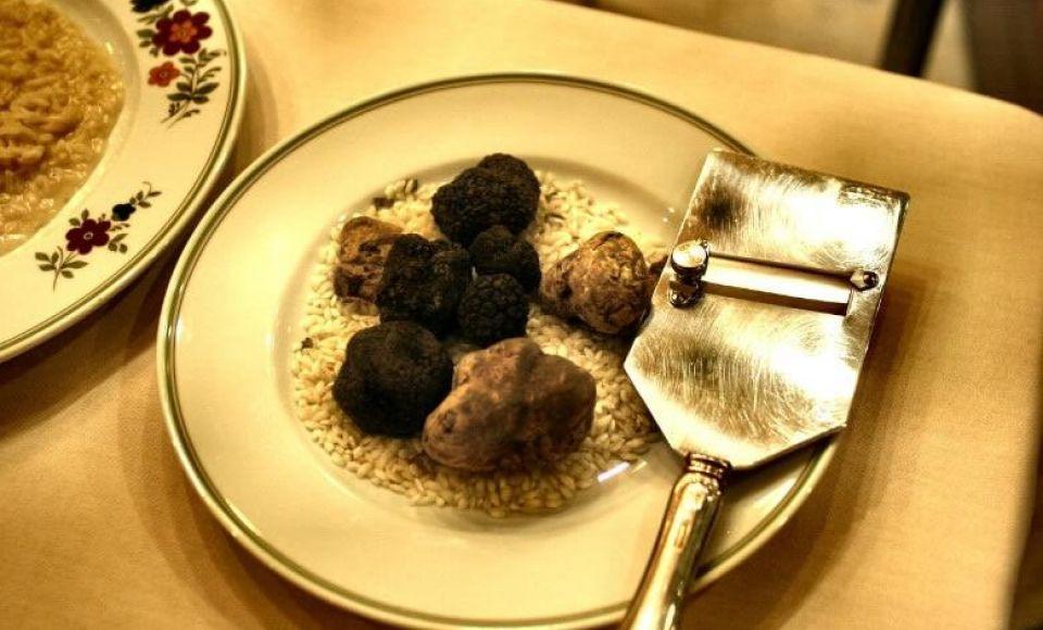Risotto al Tartufo Classico - Risotto met truffels