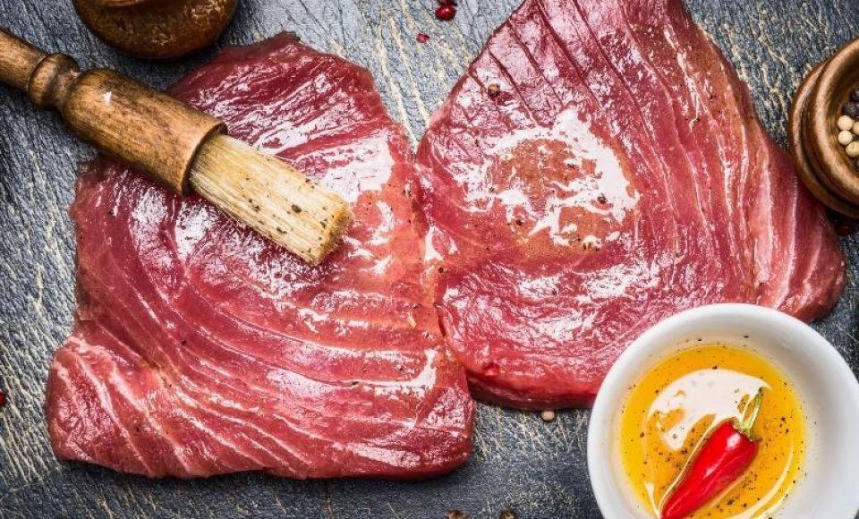 Tonijn in zoetzure saus | Sicilie