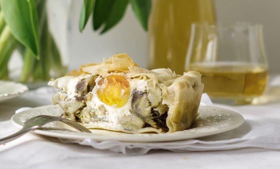 Torta Pasqualina / Hartige Paastaart uit Ligurie