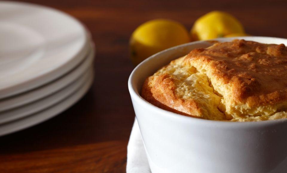 Gemakkelijke soufflé met Parmezaanse kaas