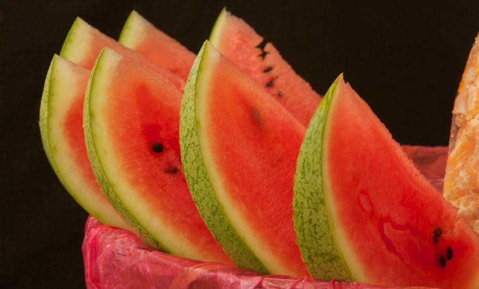 Gelo di Anguria, dessert van watermeloen