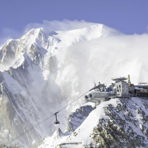 Het 8ste wereldwonder is de Skyway kabelbaan in Courmayeur (Aosta)