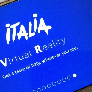 Wat is de nieuwe Italia Virtual Reality app?