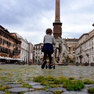 Fotoexpositie in Rome over de Lockdown van Italie
