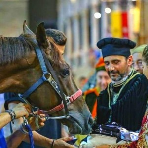 Feest in Fermo, Cavalcata dell'Assunta, een historisch re-enactment