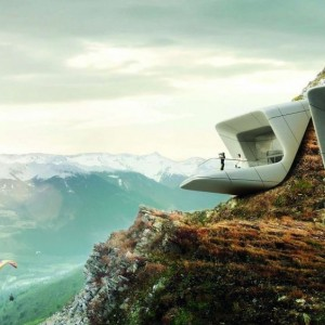Messner Mountain Museum in de Dolomieten