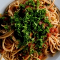 Een klassieke Pasta alla Puttanesca