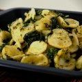 Orecchiette met cime di rapa (broccoli) en ansjovis