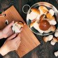 Porcini paddenstoelen