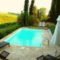 B & B Fornace de Bagnano, rust tussen wijngaarden van de Chianti