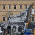 Franse streetartist JR in Rome en Florence