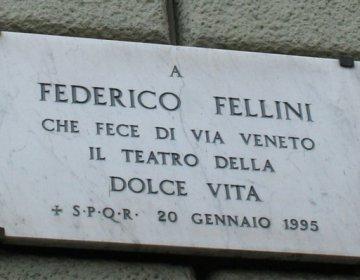 Maart - 100 jaar Federico Fellini, een reizende tentoonstelling