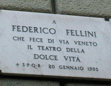 100 jaar Federico Fellini, een reizende tentoonstelling
