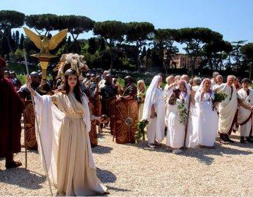 April - Il Natale di Rome, officiële viering geboorte van de stad Rome