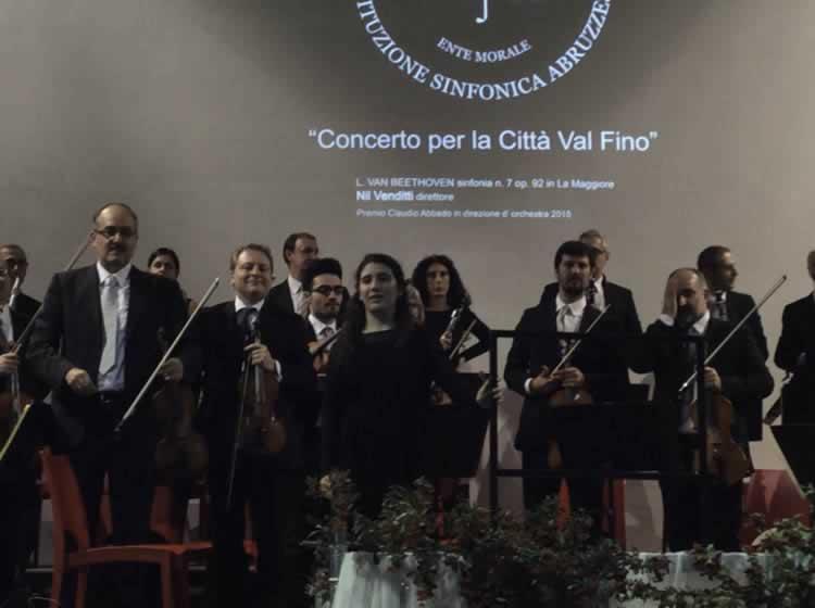 Het symphonie orkest van Abruzzen