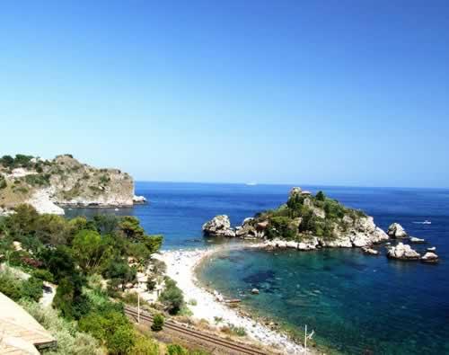 Op de fiets richting Sicilië