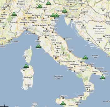 campings in italie