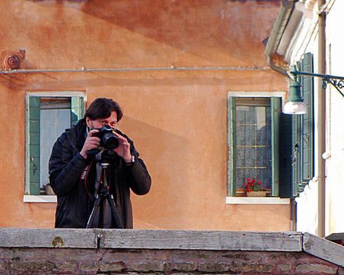 Paolo de Faveri, Burano, Venetië in de winter van 2009