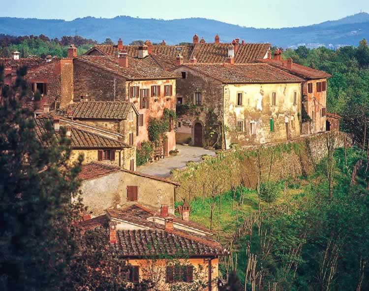Open kelders in Toscane