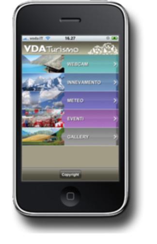 Valle d'Aosta iPhone Applicatie