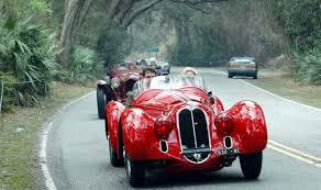 De oldtimers race in Italie: Mille Miglia