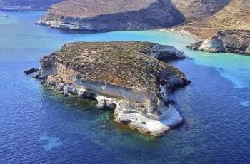 Baia dei Conigli, Lampedusa, Sicilie