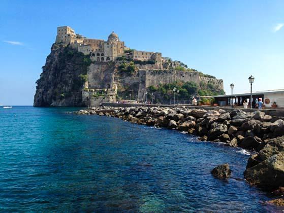 Het Castello Aragonese op Ischia
