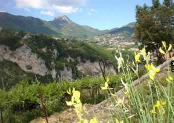 Monti Lattari bij Amalfi