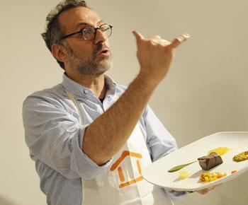 Chef Massimo Bottura van Osteria Francescana