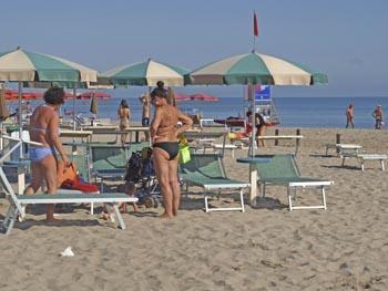 Strand van Cervia