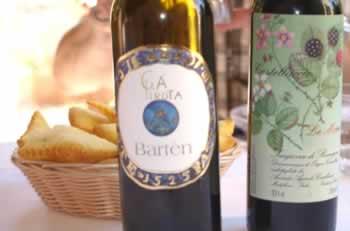 Sangiovese wijn kan overal bij gedronken worden