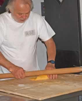 Thuis pasta maken