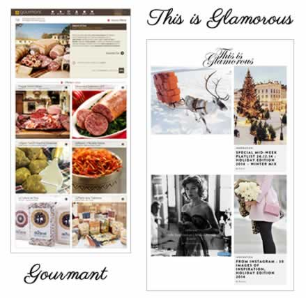 Gourmant & This is Glamour Website