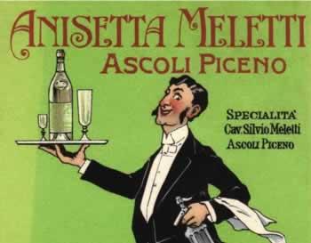 De beroemde anijsdrank van Meletti