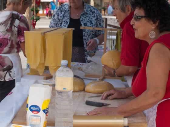Demonstratie pasta maken