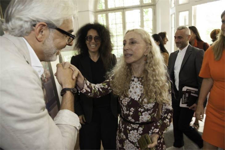 Franca Sozzani van Vogue Italia