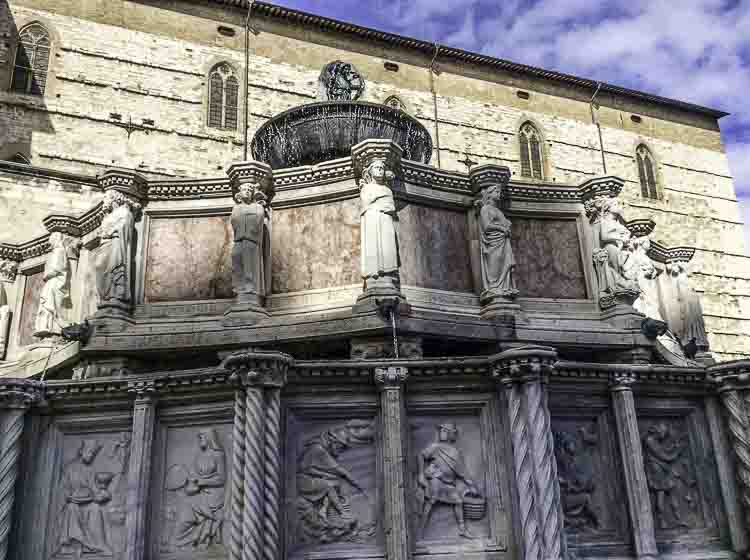 Leuke pleintjes in Perugia