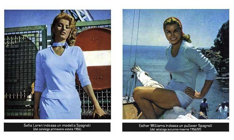 Nostalgie met Sophia Loren en Esther Williams in Spagnoli truitjes