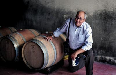 In de wijnkelders van Puglia ligt de Primitivo te rijpen