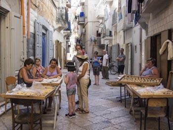 Bari, de oude binnenstad
