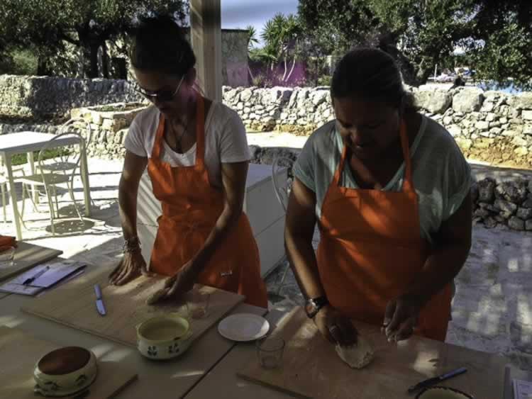 Kookles met producten uit Puglia