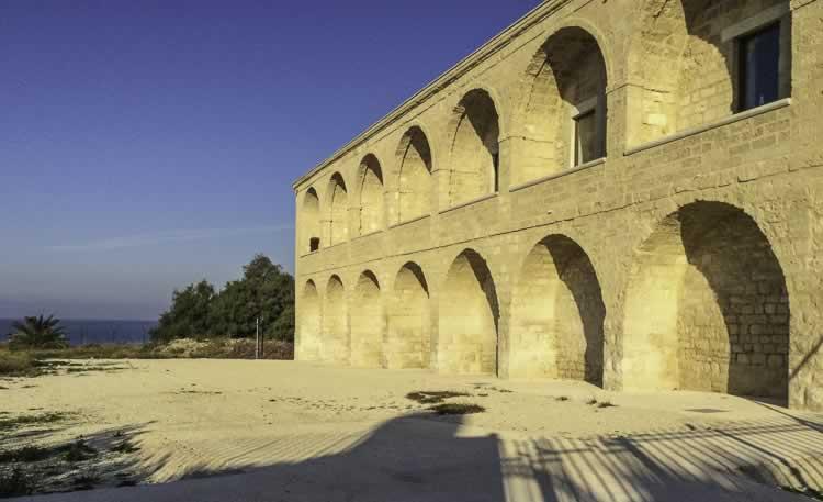 Het klooster Santa Maria Colonna di Trani