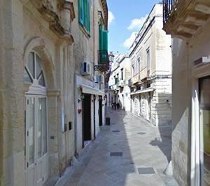 De historische binnenstad van Lecce