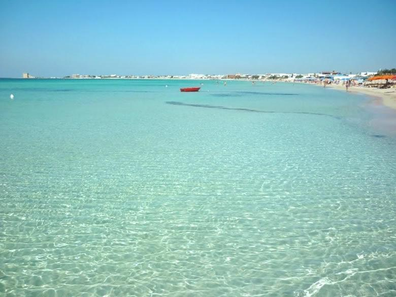 Strand van Torre Lapillo