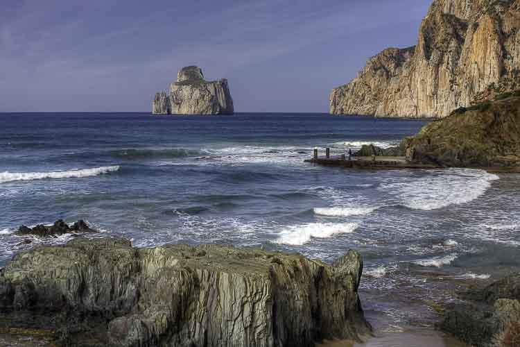 Carloforte, op het eilandje San Pietro voor de kust van Sardinie
